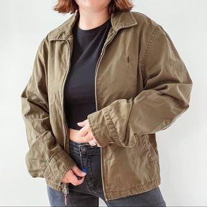 RALPH LAUREN   Vintage Army Green Jacket S